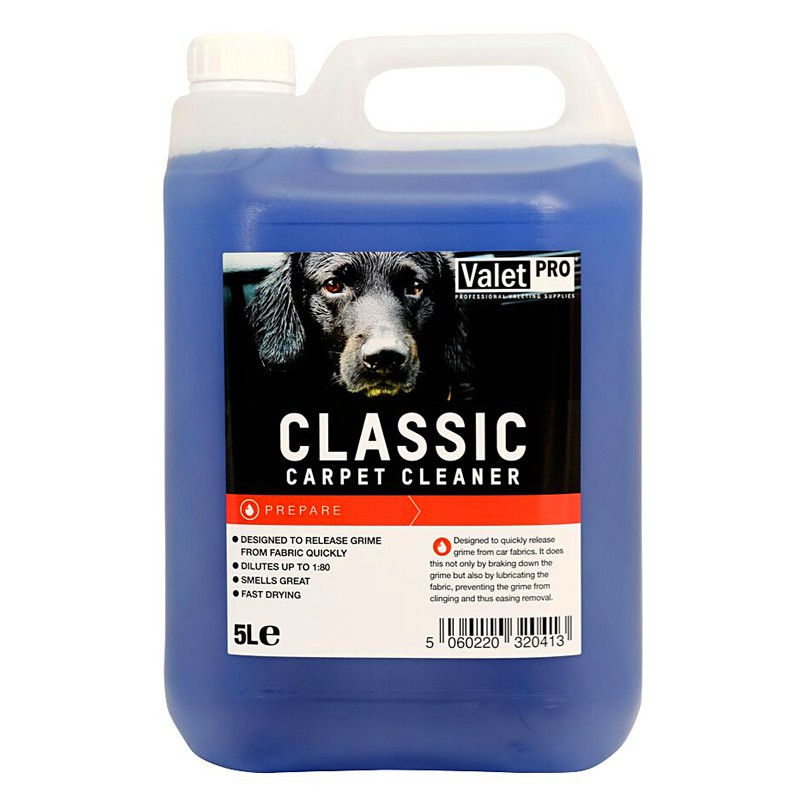 valet pro heavy duty extraction cleaner carcarepassion the best car care products for your. Black Bedroom Furniture Sets. Home Design Ideas