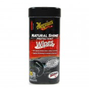 MEGUIAR'S NATURAL SHINE WIPES