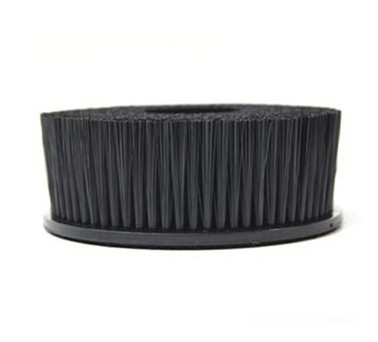 Upholstery Brush With Hook And Loop Attachment For