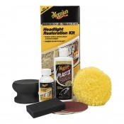 MEGUIAR'S KIT RESTAURACIÓN DE FAROS HEAVY DUTY