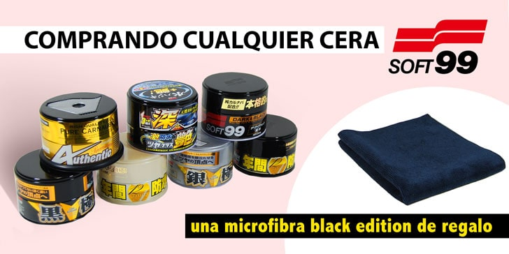 BANNER SOFT99 - REGALO BLACK EDITION